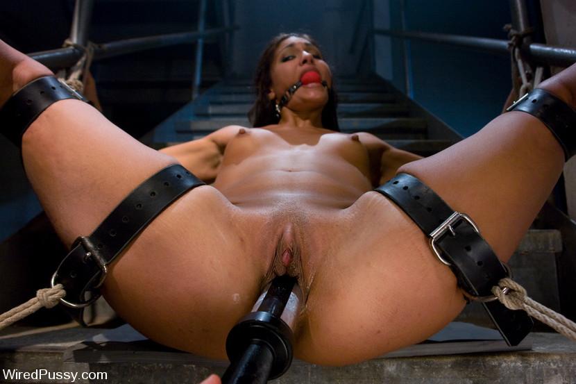 Jail strip female