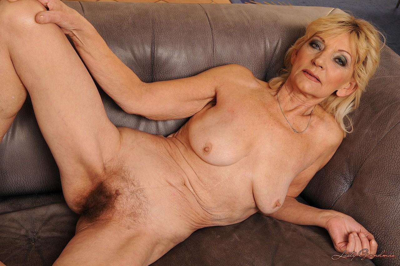 Hot blonde having orgasm